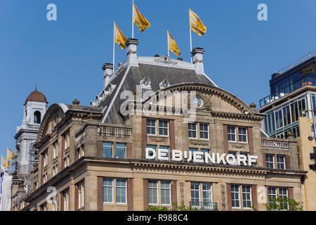 De Bijenkorf department store in Amsterdam, Netherlands - Stock Image
