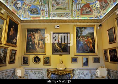 italy, rome, palazzo corsini, galleria nazionale di arte antica, corsini collection art gallery - Stock Image