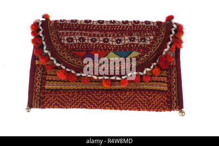 Traditional Indian Bag - Stock Image
