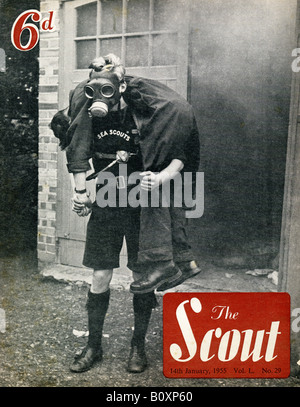 The Scout Magazine 14 January 1955 For Editorial Use Only - Stock Image