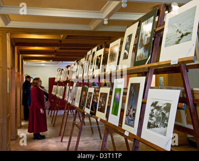 Hundreds of people enjoyed Lichfield Camera Clubs display of prints in the Guildroom on the ground floor of the - Stock Image