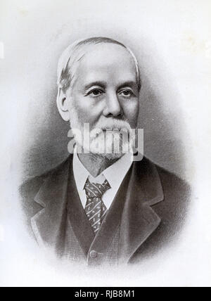 Hon Edmund Walcott Fosbery (1834-1919) CMG, Inspector General of Police (1874-1903), New South Wales, Australia. - Stock Image