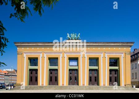 Thorvaldsens museum in Copenhagen - Stock Image