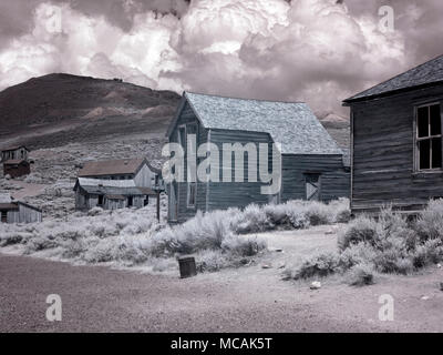 Bodie is a ghost town - Stock Image