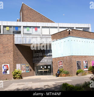 Wyvern theatre building, Swindon, Wiltshire, England, UK opened 1971 architects Casson, Conder and Partner - Stock Image