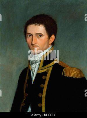 Toussaint Antoine DE CHAZAL DE Chamerel - Portrait of Captain Matthew Flinders - Stock Image
