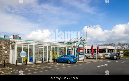 M6 Motorway Service Station - Stock Image