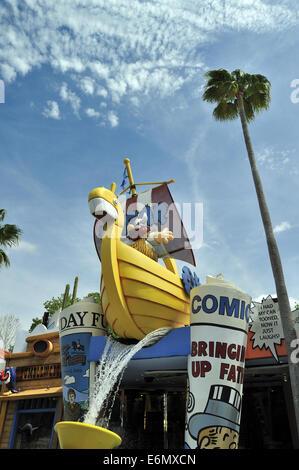 Hagar the Horrible, Universal Orlando Resort, Orlando, Florida, USA - Stock Image
