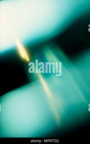 Green and Yellow Abstract   Ref: CRB456_10063_006  Compulsory Credit: JENNY CIAPUTA / Photoshot - Stock Image