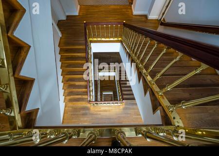 Stairs at Christiansborg Palace Slotsholmen - Stock Image