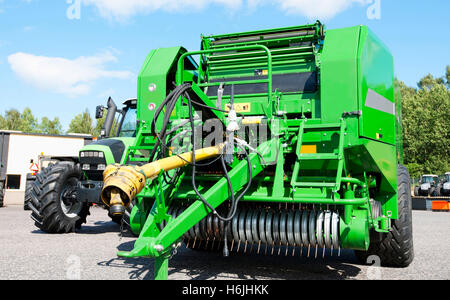 combine harvester, farming machinery, latest models - Stock Image