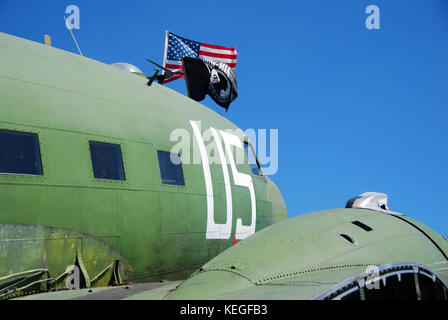 World War II era DC-3 - Stock Image