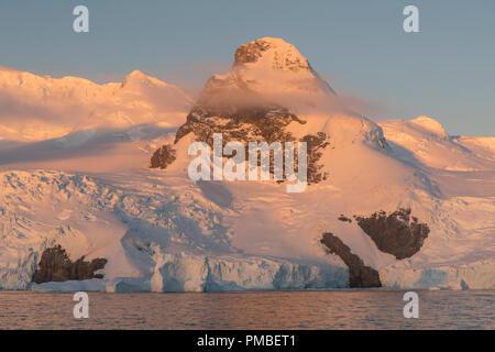 Cierva Cove, Antarctica. - Stock Image