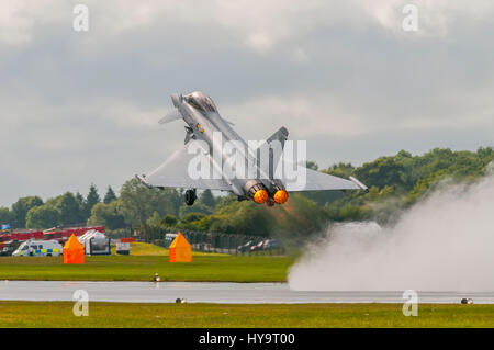 RAF Eurofighter Typhoon - Stock Image
