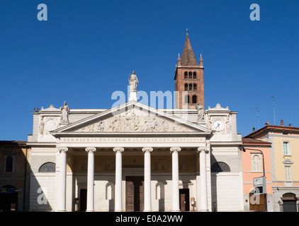 Church of Sant Agata - Cremona Lombardy Italy - Stock Image