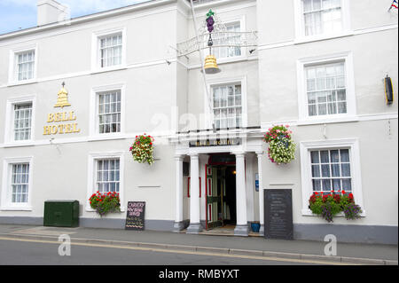 The Best Western Bell Hotel in the centre of Great Driffield in East Yorkshire - Stock Image