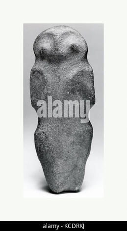 Axe, Zoomorphic Form, 10th–15th century, Dominican Republic, Caribbean, Taino, Stone, H x W: 9 1/8 x 3 1/2in. (23.2 - Stock Image