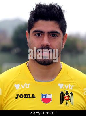 Chile Football League Serie A  / ( Union Espanola ) -  Diego Sanchez - Stock Image