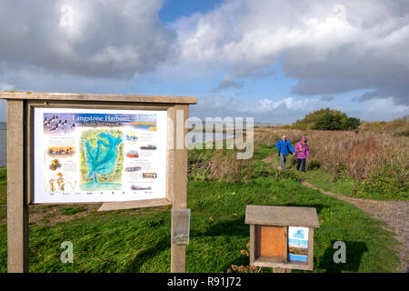 Langstone Harbour, Hayling Island, Hampshire, UK - Stock Image