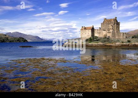 Eilean Donan Castle, Scotland - Stock Image