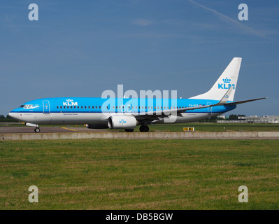 PH-BXF KLM Royal Dutch Airlines Boeing 737-8K2(WL) - cn 29596 2 - Stock Image