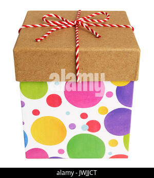 Square Gift Boxes - Stock Image