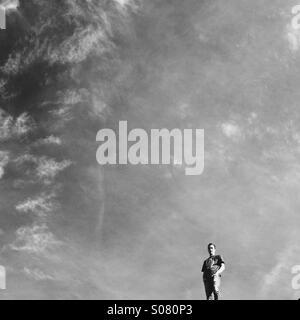 Moab Sky - Stock Image