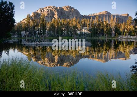 Gem Lake Emigrant Wilderness Area California USA - Stock Image