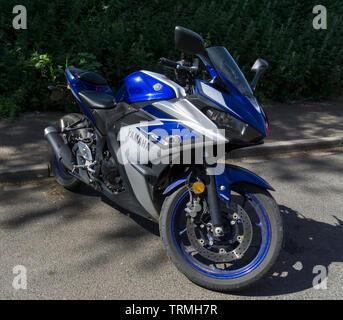 YAMAHA motorbike - Stock Image