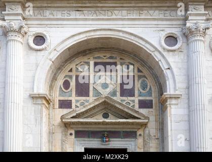 Classic Italian architecture, Rimini, Emilia-Romagna, Italy - Stock Image