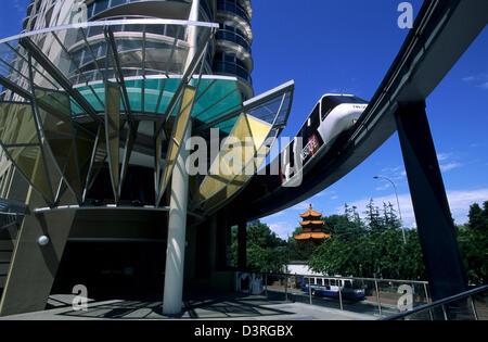 Monorail, Sydney AUS - Stock Image