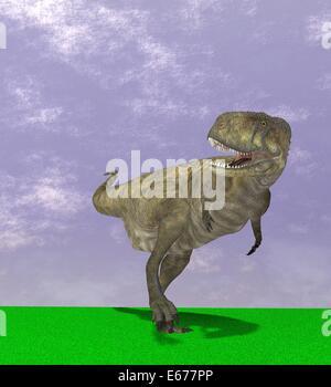 Dinosaurier Abelisaurus / dinosaur Abelisaurus - Stock Image
