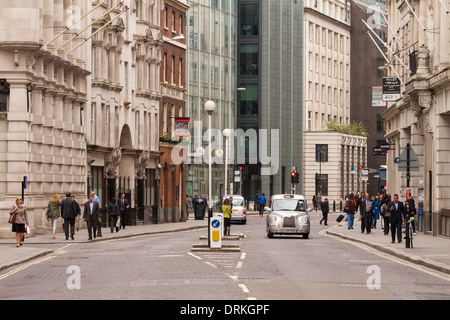 Office workers Fenchurch Street, City of London, England - Stock Image