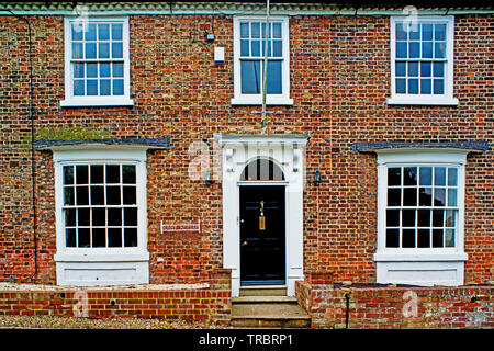 Raby House, Chapel Row, Sadberge, Borough of Darlington, England - Stock Image
