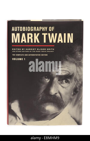 The Autobiography of Mark Twain edited by Harriet Elinor Smith - Stock Image