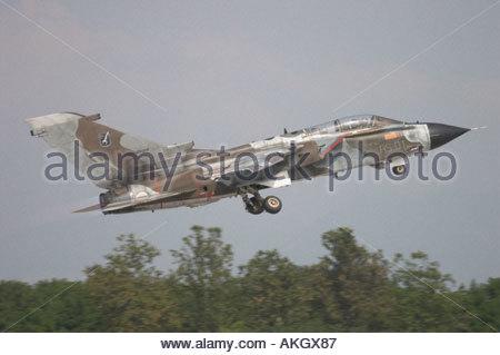 Rivolto Italia Air show 2005 Panavia Tornado IDS Italian Air Force - Stock Image