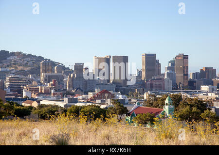 Cape Town City  - South Africa - Stock Image