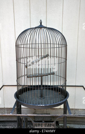 Bird cage - Stock Image