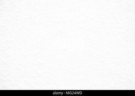 White Stucco Concrete Background. - Stock Image
