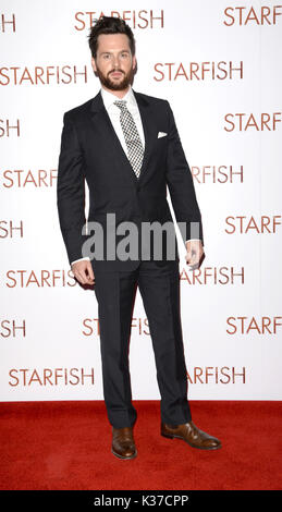Photo Must Be Credited ©Alpha Press 078237 27/10/2016 Tom Riley at the UK film premiere of Starfish held at The Curzon Mayfair in London. - Stock Image