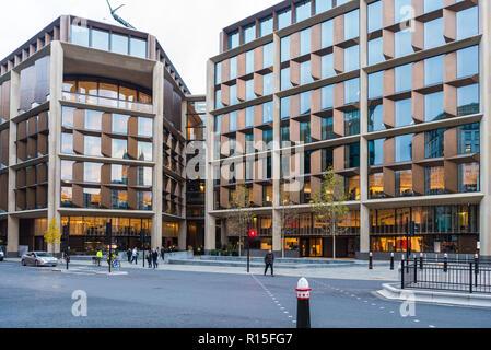Bloomberg London headquarters, City of London, England, UK - Stock Image