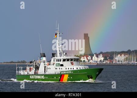 Coastguardvessel Schleswig-Holstein - Stock Image