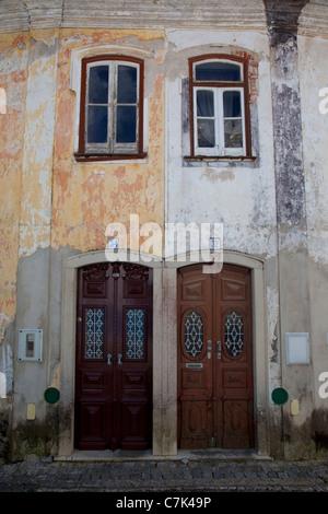 Portugal, Algarve, Monchique, Doors & Windows - Stock Image