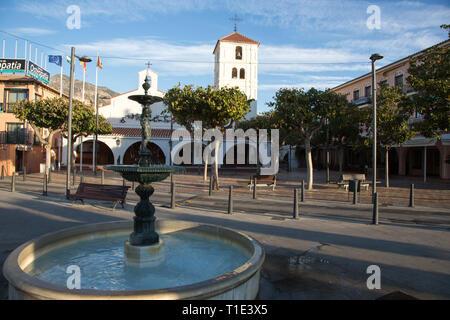 Arroyo Del La Miel Church Benalmadena Costa del Sol Spain - Stock Image