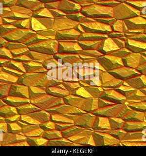 raw gold background - Stock Image