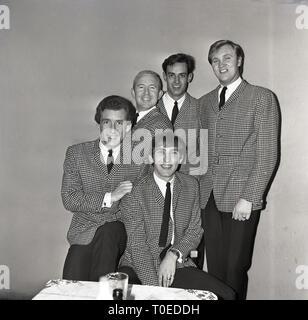 1964, Barron Knights pop group, Aylesbury, England, UK. - Stock Image