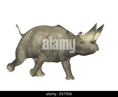 Dinosaurier Arsinoitherium / dinosaur Arsinoitherium - Stock Image