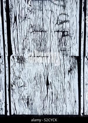 Textured wood background - Stock Image