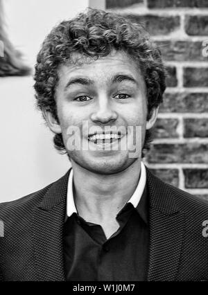 Los Angeles, CA - June 02, 2019: Sean Giambrone attends the Premiere Of Universal Pictures' 'The Secret Life Of Pets 2' held at Regency Village Theatr - Stock Image