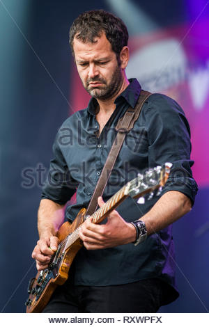 BESS performing live, 11 july 2014 - Stock Image